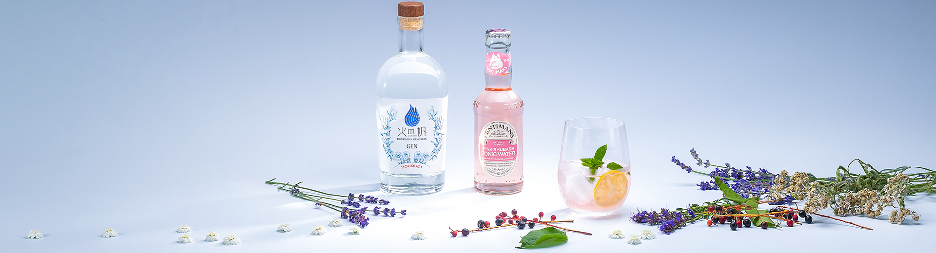 BOUQUET and 【Fentimans】Pink Tonic Water